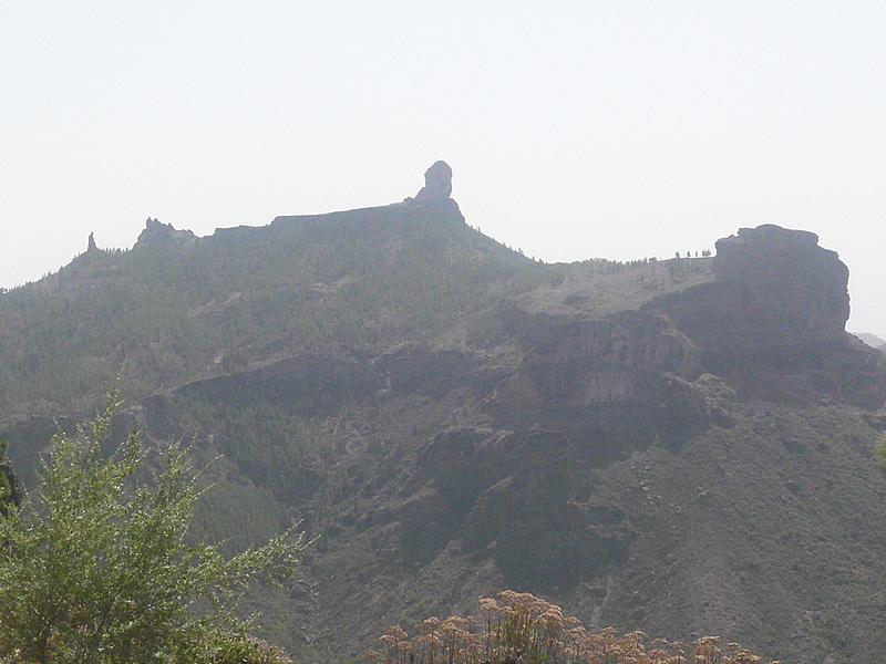 El monje y Roque Nublo